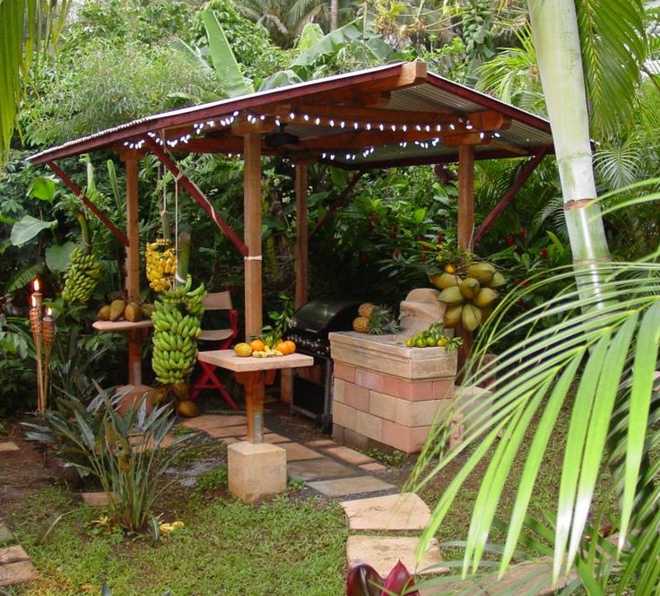 17 best images about rustic outdoor kitchens on pinterest for Backyard kitchen garden design