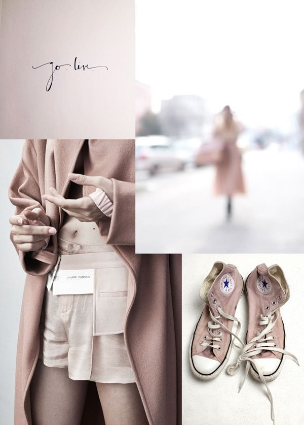 I'm declaring my love for pale pink, aka the nude trend on this special Valentines Day.