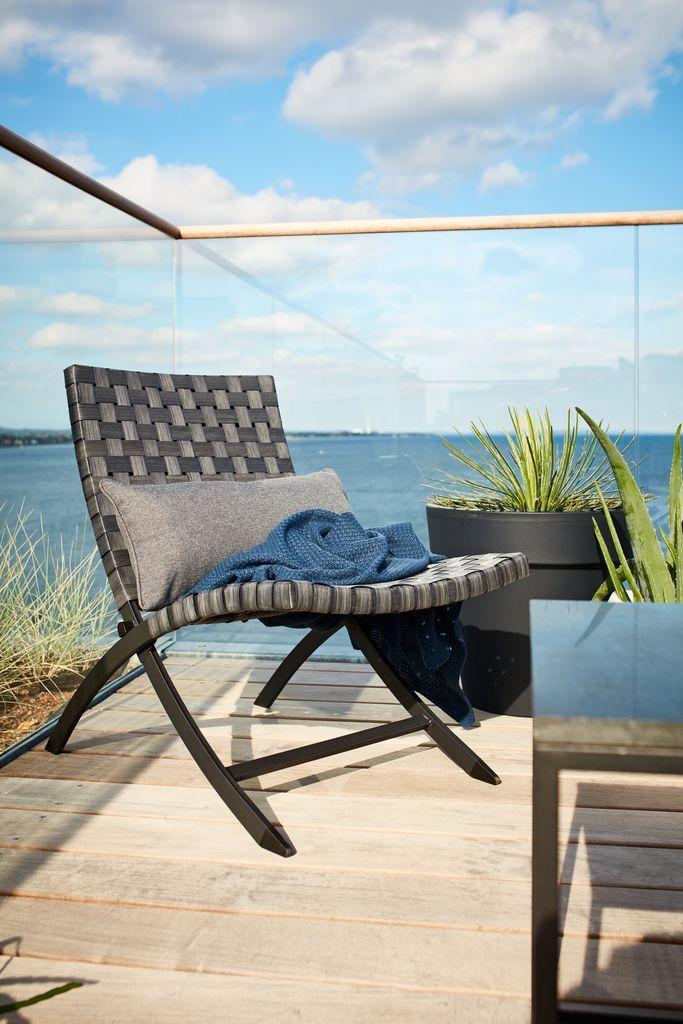 Loungestoel ELVERUM voor in je tuin | JYSK