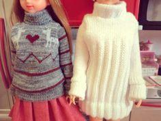 リカちゃん・ジェニーちゃん・バービー人形…いま再び、大人の女性の間で再ブーム中!人形に着せる服を手作りする人も増えています。