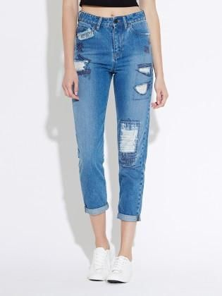 Waven - Womens Elsa Mom Jean