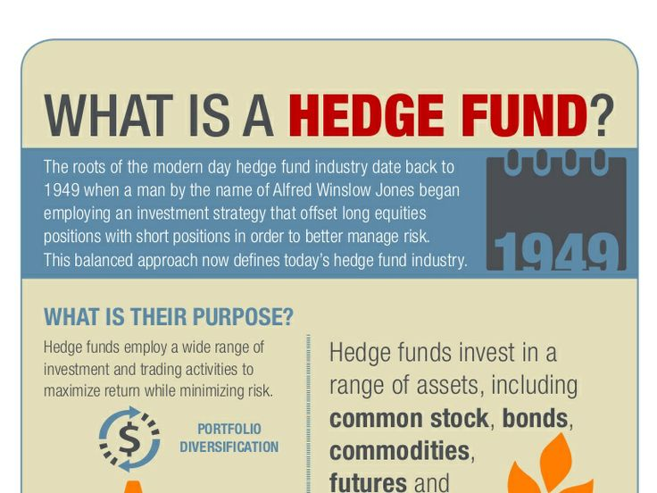 What is a Hedge Fund? Here's an Infographic on the topic.