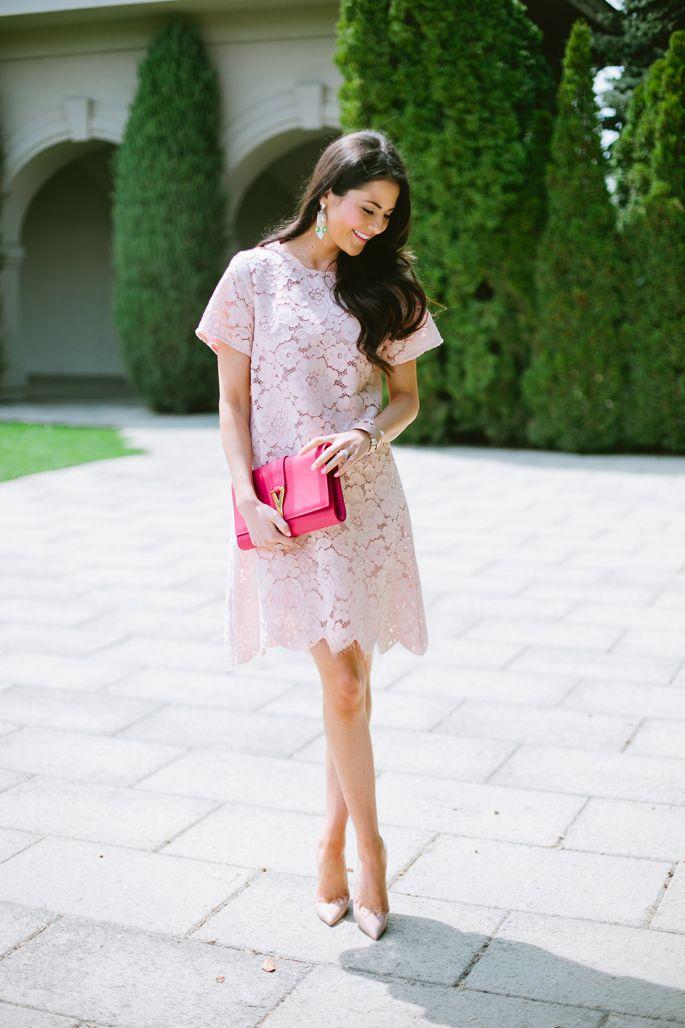 Best 25  Blush lace dresses ideas on Pinterest