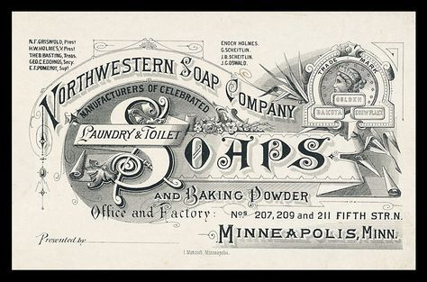 Northwestern Soap Company | Sheaff : ephemera