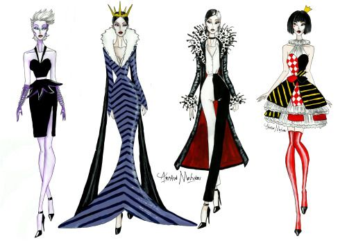 If Disney Villains lived today (part 1) - by Armand Mehidri