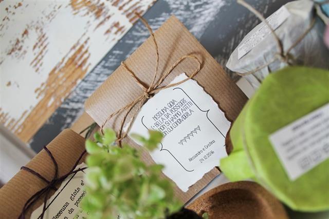 bomboniere semi da piantare EcoFattoArt