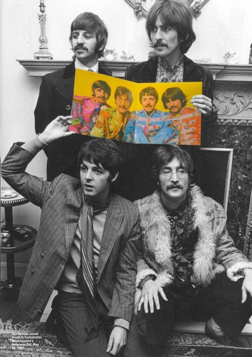 Richard Starkey, George Harrison, Paul McCartney, and John Lennon (1967)