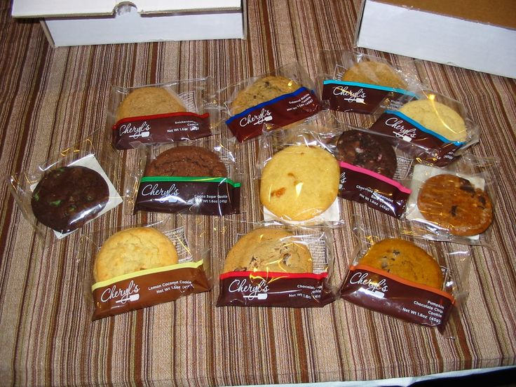 Image result for cheryls cookies plastic wrapped