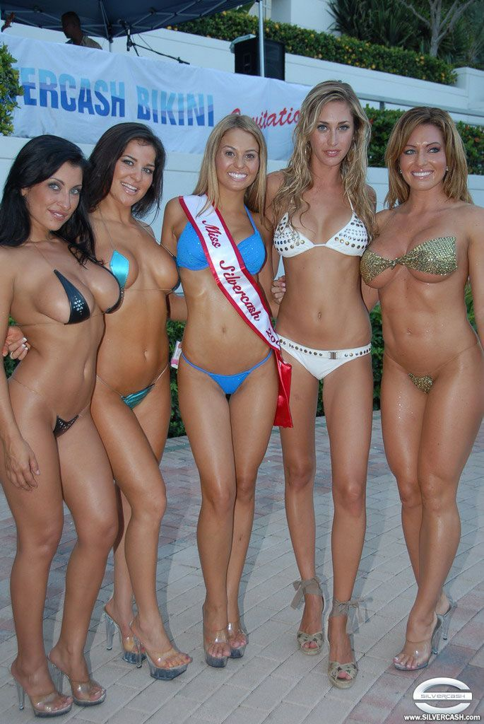 Silvercash bikini contestants