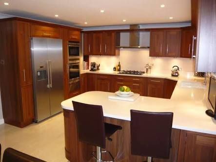 Kitchen Design G Shape g shaped kitchen hakkında pinterest'teki en iyi 20+ fikir