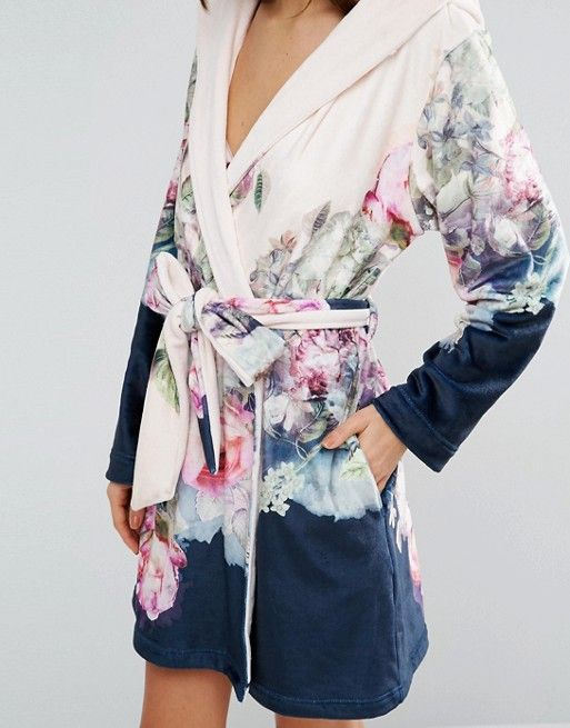 Ted Baker Pure Peony Printed Robe