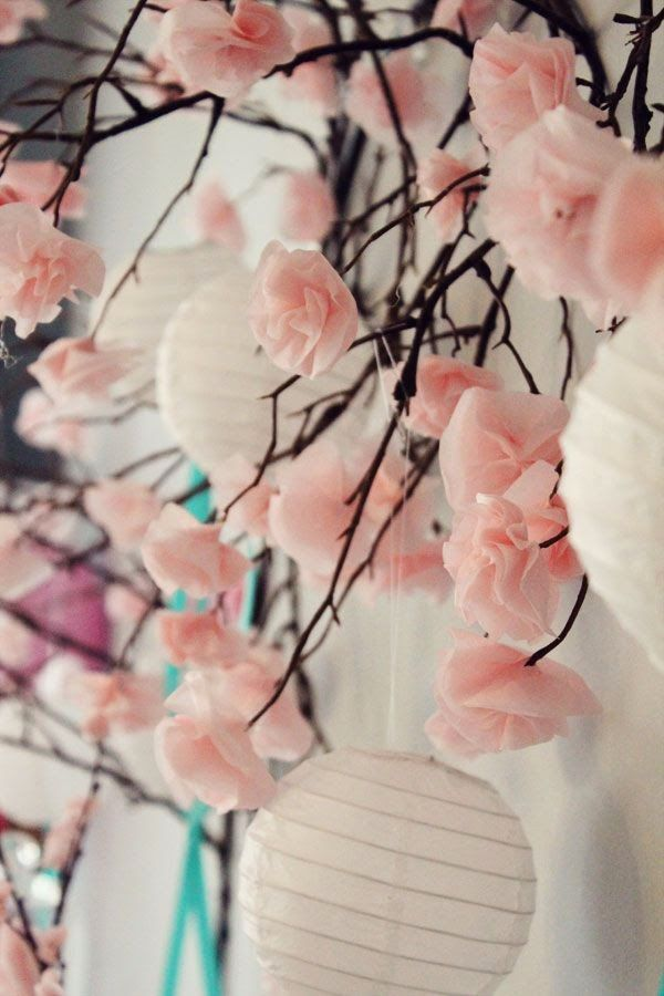 The Beauty of a Cherry Blossom Wedding Theme. | Read more: http://simpleweddingstuff.blogspot.com/2015/03/the-beauty-of-cherry-blossom-wedding.html