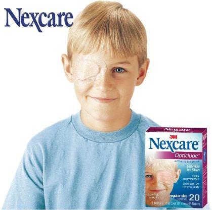 En cualquier momento se podría presentar algún tipo de alergia, herida o padecimiento en los ojos y Nexcare tiene para esos momentos el Parche Ocular Opticlude.    - Diseñado para un cómodo tratamiento ocular.  - Recomendado por doctores.