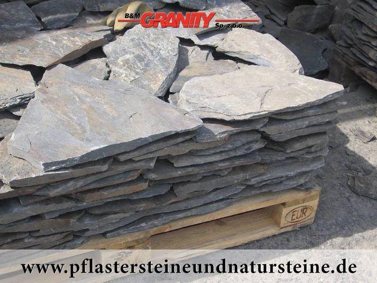 Firma B&M GRANITY bietet diverse Steinplatten an. Platten können so unterschiedlich (Farbe, Form, Bearbeitungsmethode) sein…Diesmal – sehr schöne, frostbeständige Platten aus Schiefer (Schiefer-Platten). Man kann auch mit diesem Stein andere Natursteine wunderbar zusammenbauen und zusammenstellen. http://www.pflastersteineundnatursteine.de/fotogalerie/platten/