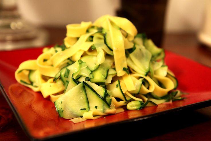 Tagliatelle zucchini