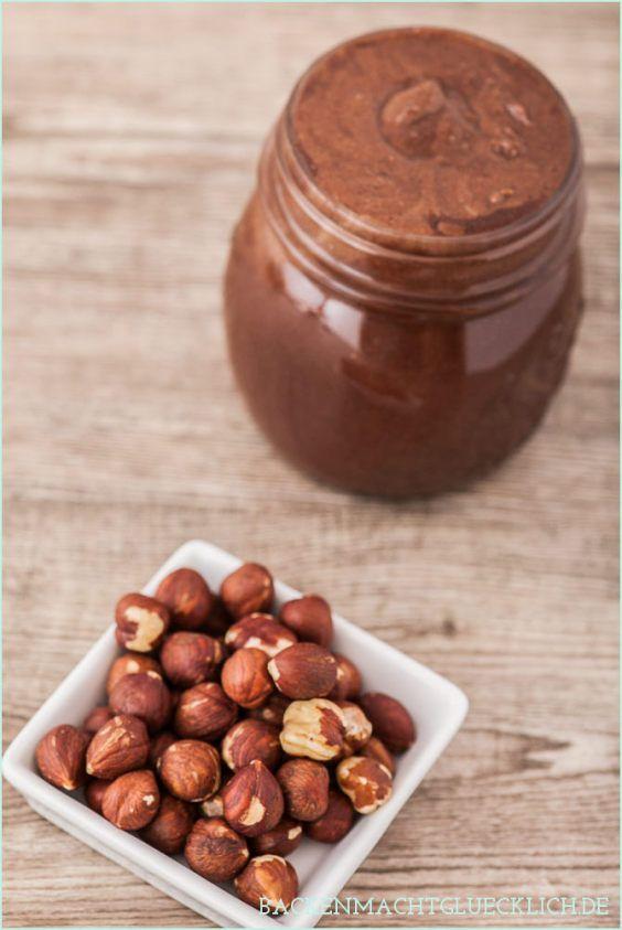 Nutella selbstgemacht - ergibt 2 Gläser