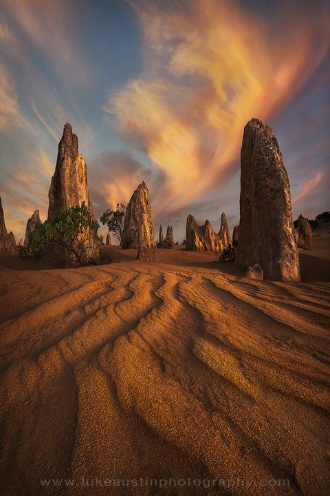 The Test of Time - Pinnacles Desert, Western Australia