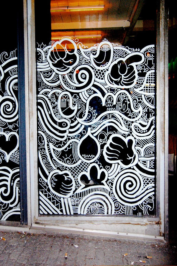 The 25 best signwriting ideas on pinterest hand on head for What kind of paint to use on kitchen cabinets for street art wall decals