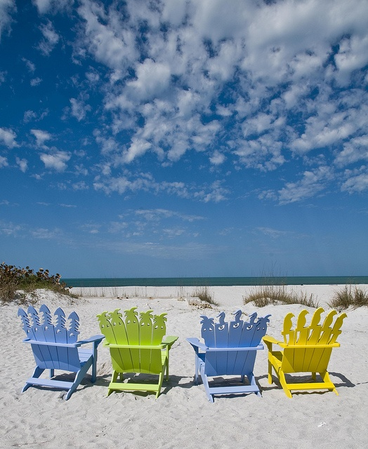 beach chairs & 248 best Beach u0026 Lawn Chairs images on Pinterest | Adirondack chairs ...