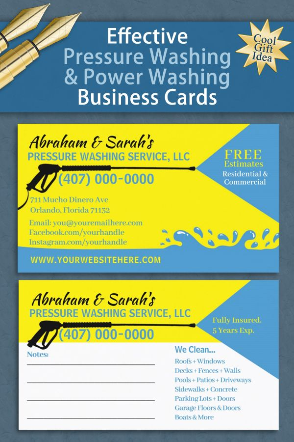 Pressure Washing Cleaning Business Card Template Zazzle Com In 2021 Cleaning Business Cards Pressure Washing Business Pressure Washing Services
