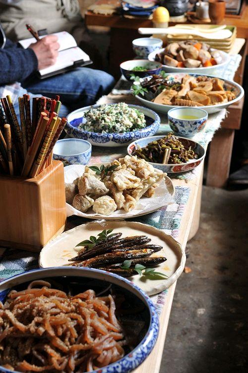 Rustic Japanese dishes, Fukuoka, Japan 郷土料理