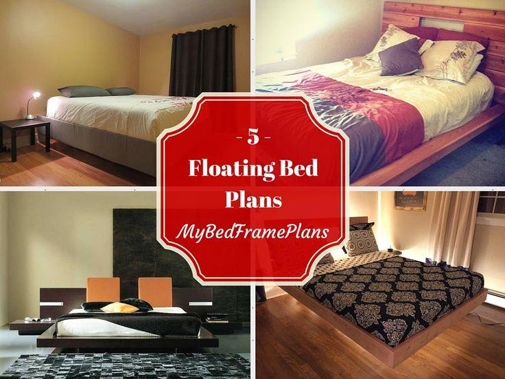 1000 images about bed frame plans on pinterest for Floating loft bed designs