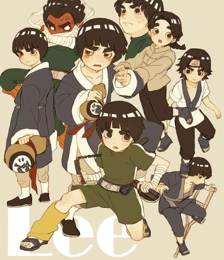 Rock Lee [by https://twitter.com/morioskn]