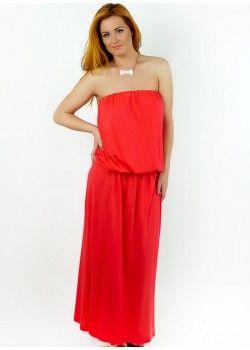 Maxi Dress Coral.