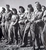 Women ELAS fighters in 1944