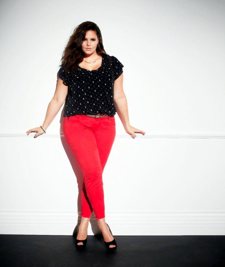 awesome С чем носить красные женские брюки? (50 фото) — Модные образы 2017