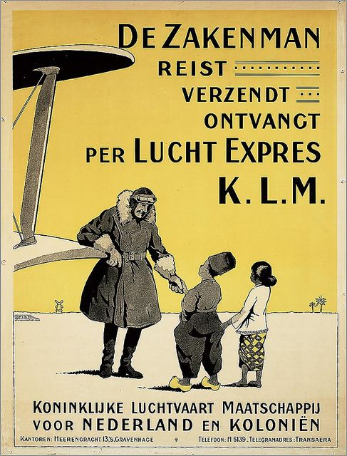 KLM Lucht Expres. 1928