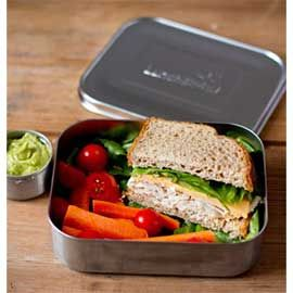 Uno+Stainless+Steel+Food+Container+