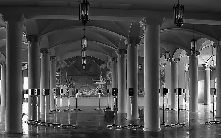 The Forty Part Motet as seen at the Freedom Tower Miami
