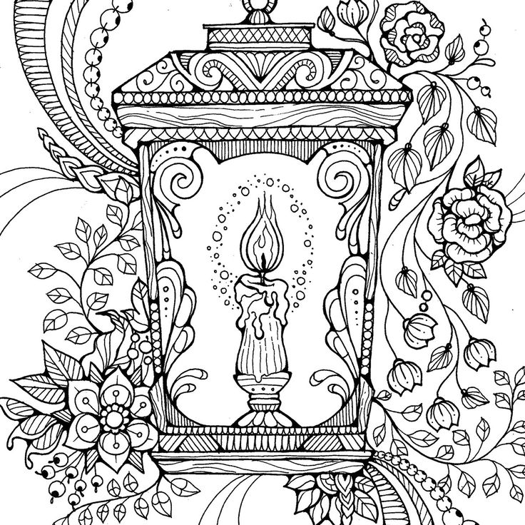 colouring pages by dee mans on behance