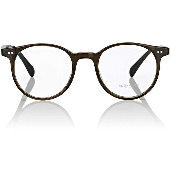 Oliver Peoples Men's Delray Eyeglasses ($380) ❤ liked on Polyvore featuring men's fashion, men's accessories, men's eyewear, men's eyeglasses, mens round eyeglasses, mens eyewear, mens eyeglasses and oliver peoples mens eyeglasses