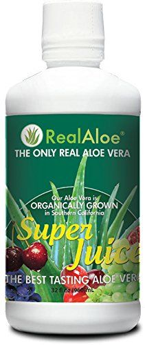 Real Aloe Vera Super Juice, 32 Fluid Ounce - http://alternative-health.kindle-free-books.com/real-aloe-vera-super-juice-32-fluid-ounce/