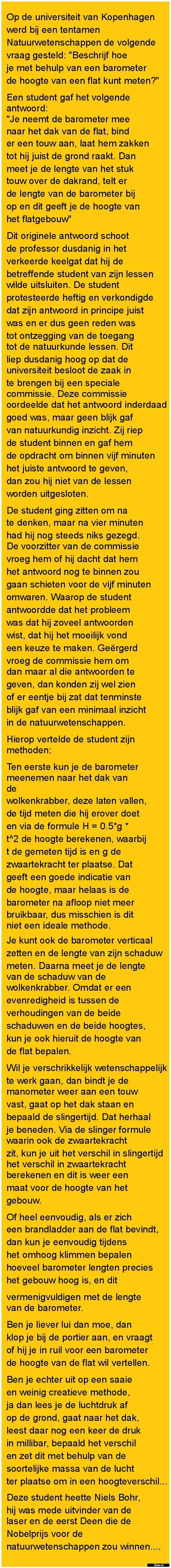 Op de universiteit... - Zieer.nl