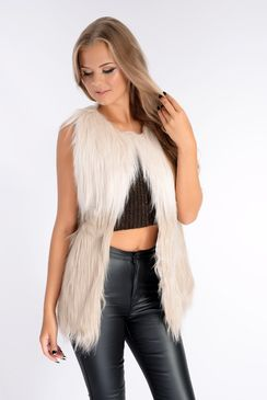 Blondie Faux Fur Gilet