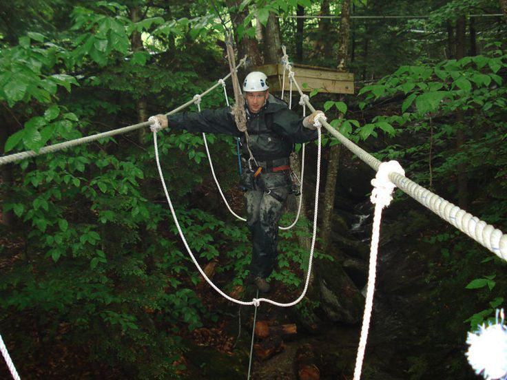 Flying Squirrel Canopy Tour at Wisp Resort