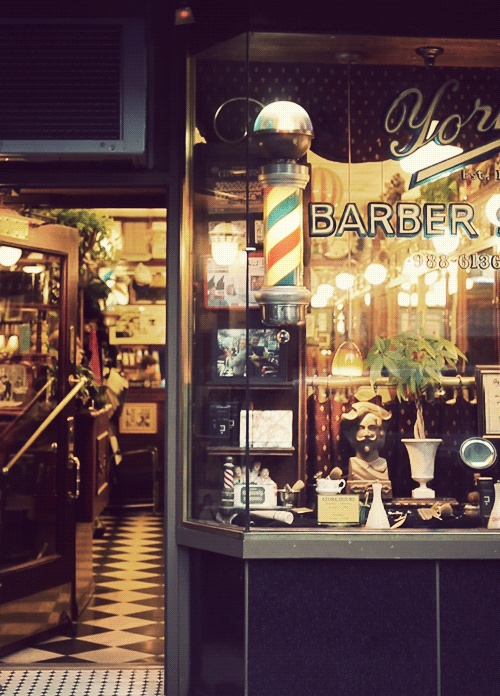 Is there anything cooler than an old time barber shop?