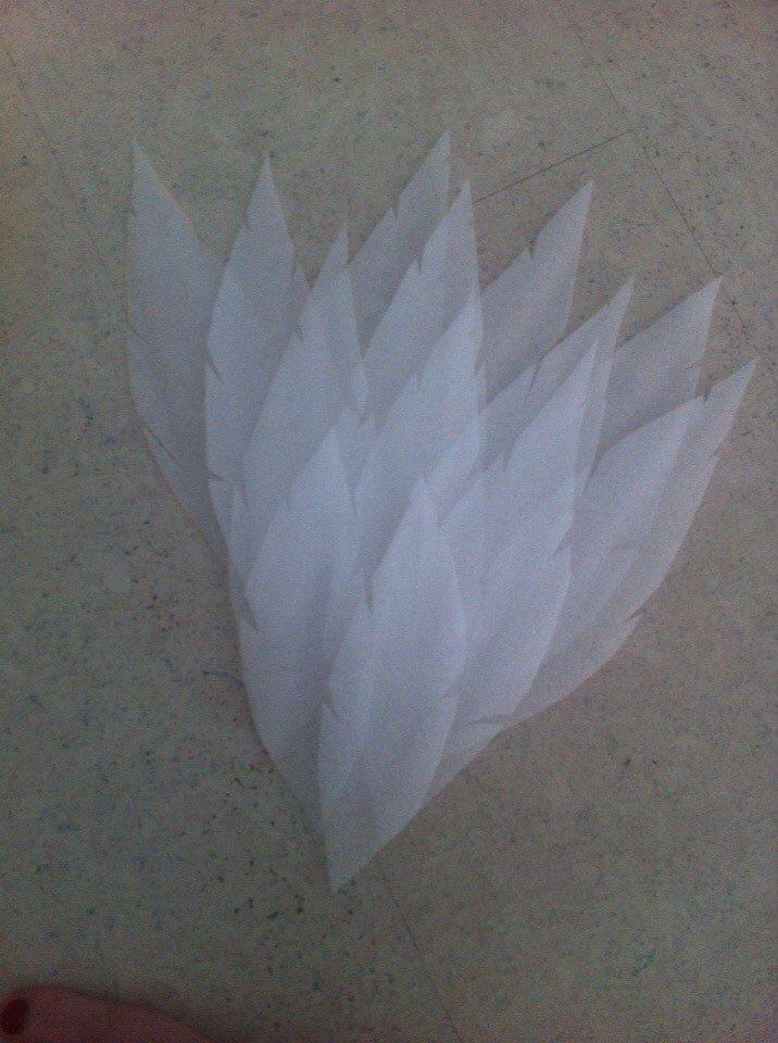 Как сделать крылья средних размеров за один вечер. / Крафтеры и рукоделы / Табун - место, где пасутся брони