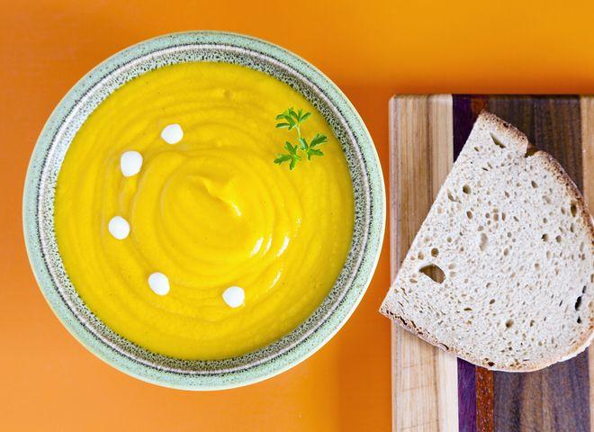 Тыквенный крем-суп: французский рецепт