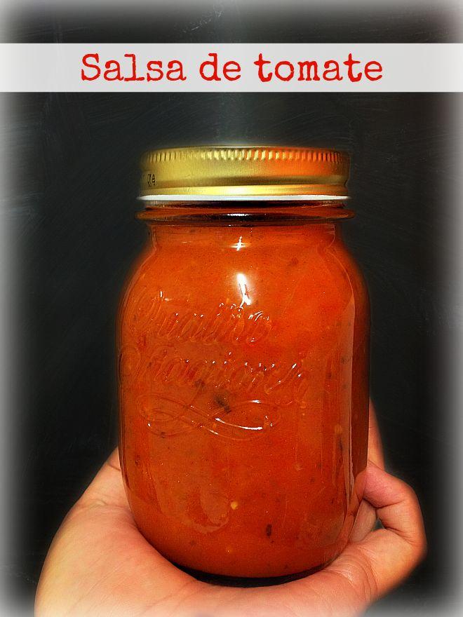 Salsa de tomate - LAS SALSAS DE LA VIDA