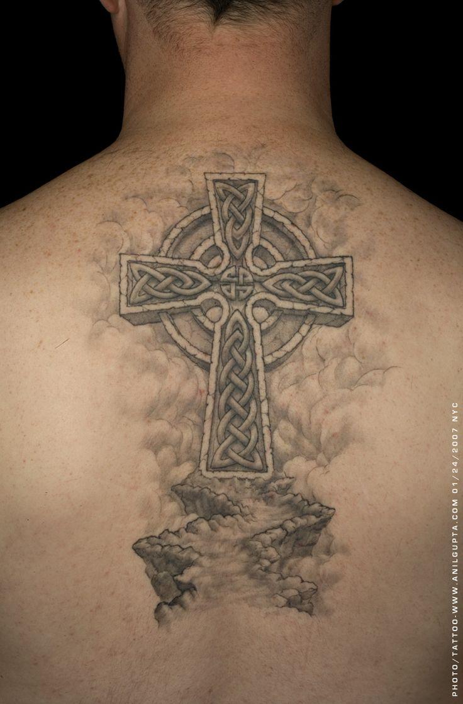 Cross tattoos for men - Inked Up Celtic Cross Tattoos