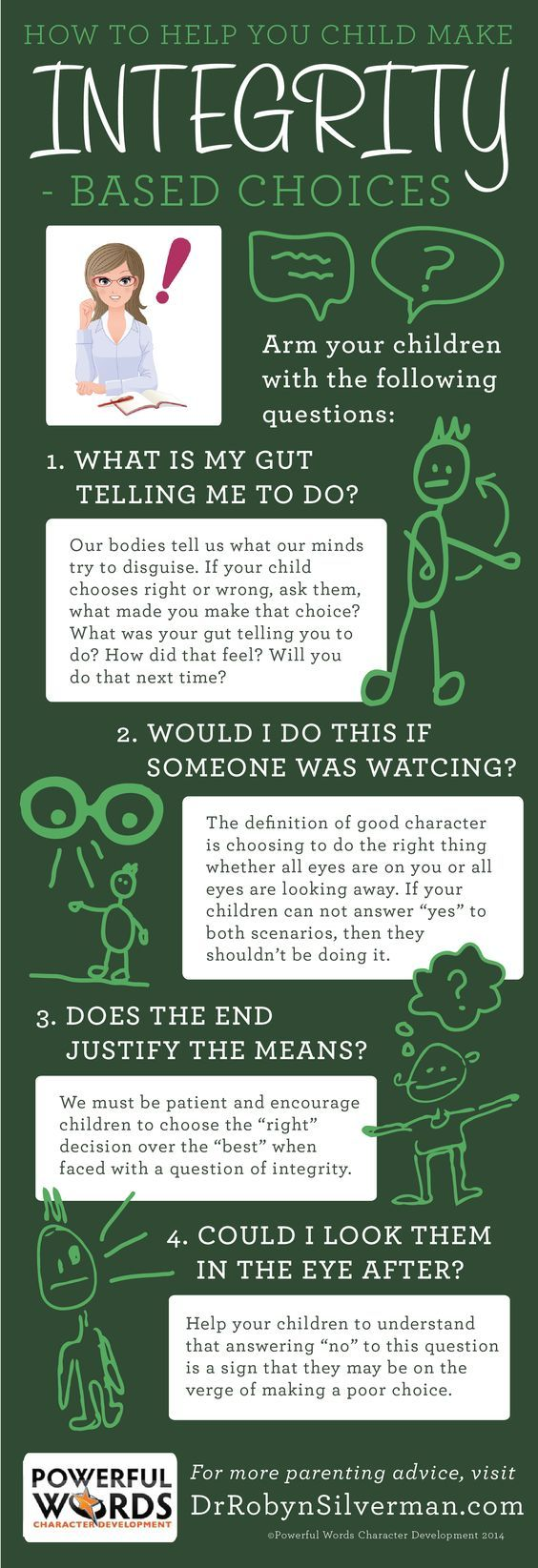 How to teach your child #Integrity