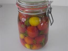 tomaten inleggen zoet-zuur