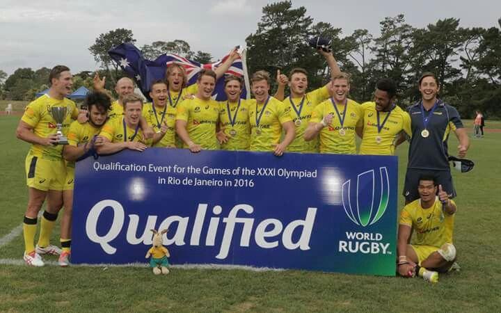 Australia mens 7s qualified for Rio 2016