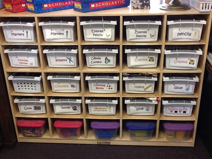 how to organize sunday school supply room | Here is the supply cubbie I have had for the last few years: