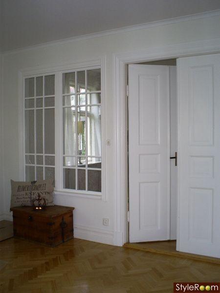 byrå spegel hall ~ fönster mellan rum  fönster  pinterest  rum, in and album