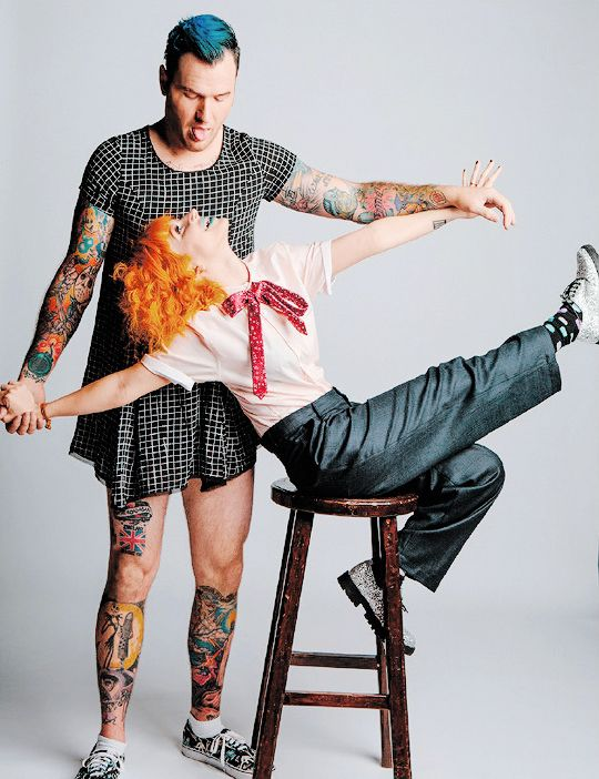 Hayley Williams and Chad Gilbert by David McClister